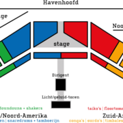 stageplan Four Horizons
